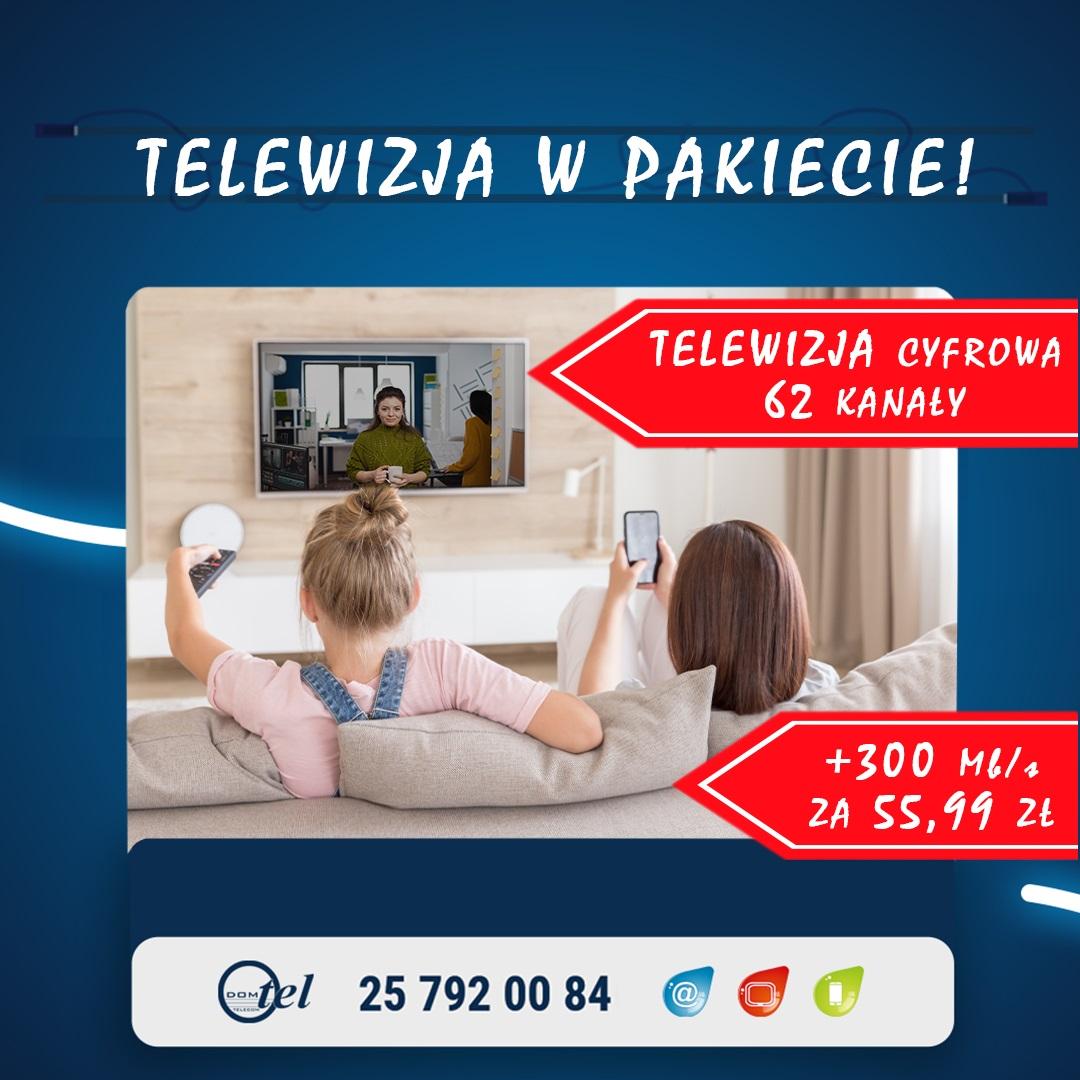 DVB-T + 300Mb za 55,99zł