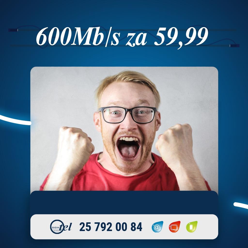 600Mb/s za 59,99zł